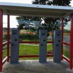 Vodafone ticketing shelter