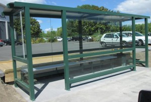 Glass Bus Shelter 001